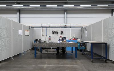 Refurbishment of welding workshop