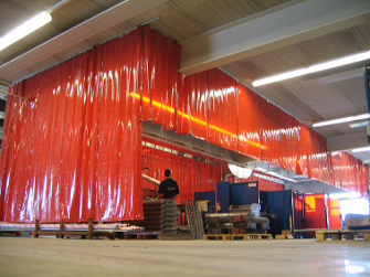 Welding Curtains Cepro