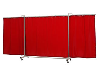 36 31 65 Robusto triptych XL Cepro Orange-CE curtain - web
