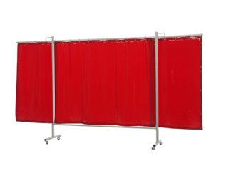 36 36 15 Omniun triptych Cepro Orange-CE curtain - web