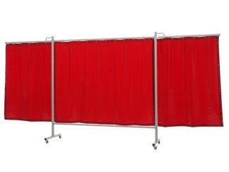 36 36 65 Omniun triptych XL Cepro Orange-CE curtain - web