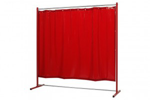 Sprint lasschermen Orange-CE curtain - web