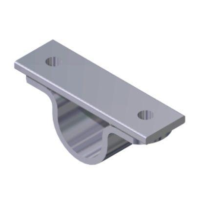 ceiling support for pipe 33,7 mm