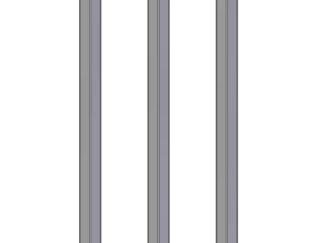 poles 50x50mm